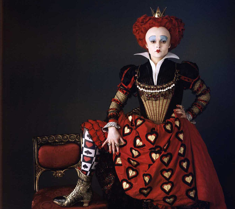 queen of hearts_tim burton